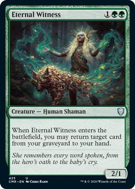 Eternal Witness - Theme Deck Exclusive