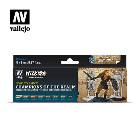 WizKids Premium Paints - Champions of the Realm