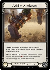 Achilles Accelerator - Rainbow Foil - Unlimited Edition