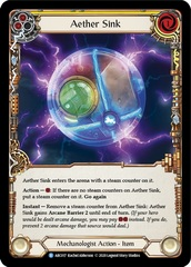 Aether Sink - Rainbow Foil - Unlimited Edition