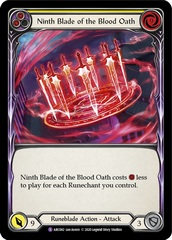 Ninth Blade of the Blood Oath - Unlimited Edition