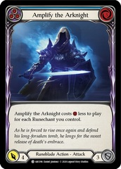 Amplify the Arknight (Blue) - Rainbow Foil - Unlimited Edition