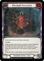 Bloodspill Invocation (Red) - Unlimited Edition