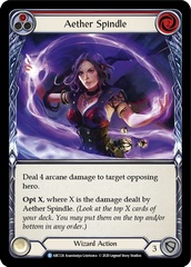 Aether Spindle (Red) - Rainbow Foil - Unlimited Edition