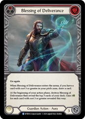Blessing of Deliverance (Red) - Rainbow Foil - Unlimited Edition