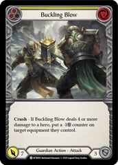 Buckling Blow (Yellow) - Rainbow Foil - Unlimited Edition
