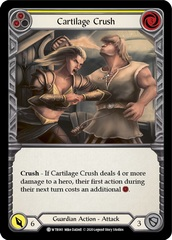 Cartilage Crush (Yellow) - Rainbow Foil - Unlimited Edition