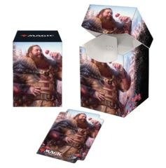 Ultra Pro - Commander Legends Hans Eriksson PRO 100+ Deck Box and 100ct Sleeves Combo