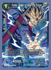 Trunks, Power to Save the Future - EX14-02 - EX - Foil