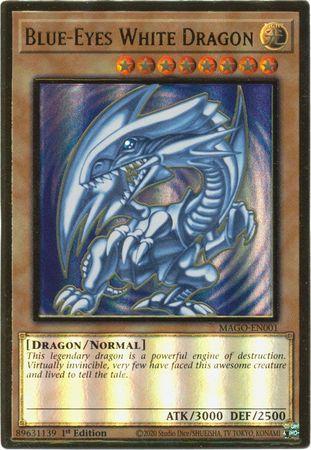 Yugioh Blue-Eyes White Dragon JUMP-EN068 Ultra Rare Limited Edition Mint!