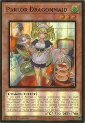 Parlor Dragonmaid - MAGO-EN023 - Premium Gold Rare - 1st Edition