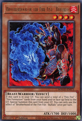 Brotherhood of the Fire Fist - Buffalo - MAGO-EN071 - Rare - 1st Edition