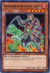 Brotherhood of the Fire Fist - Coyote - MAGO-EN072 - Gold Rare - 1st Edition on Channel Fireball