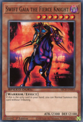 Swift Gaia the Fierce Knight - SBCB-EN005 - Secret Rare - 1st Edition