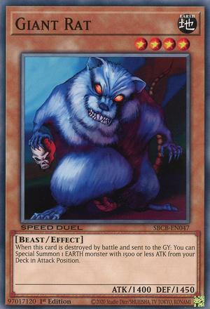 Giant Rat - SBCB-EN047 - Common - 1st Edition
