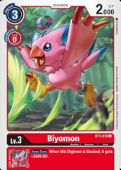 Biyomon - BT1-012 - U