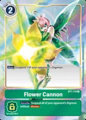 Flower Cannon - BT1-110 - R - Alternative Art