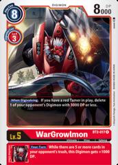 WarGrowlmon - BT2-017 - R