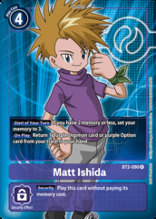 Matt Ishida - BT2-090 - R - Box Topper