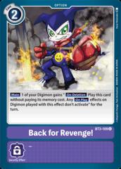 Back for Revenge! - BT3-109 - U