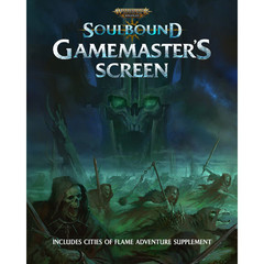 Warhammer Age Of Sigmar Rpg: Soulbound - Gamemaster's Screen