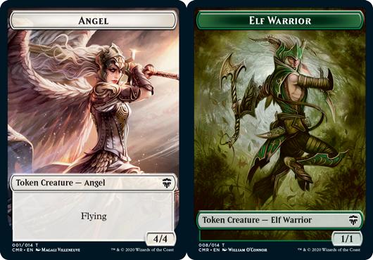 Angel Token // Elf Warrior Token - Foil