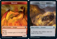 Dragon Token // Treasure Token - Foil