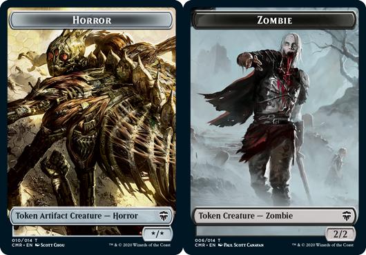 Horror Token // Zombie Token - Foil