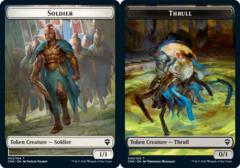 Soldier Token // Thrull Token - Foil