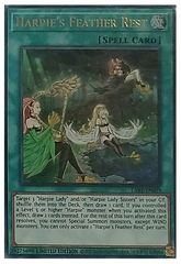 Harpie's Feather Rest - LART-EN029 - Ultra Rare - Limited Edition