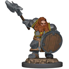D&D Premium Painted Figure: W5 Male Dwarf Fighter