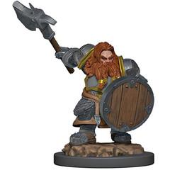 D&D Premium Painted Figure: W5 Male Dwarf Fighter