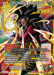 SS4 Son Goku, a Heartfelt Plea - BT8-110 - SR - Revision Pack 2020