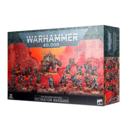 Warhammer 40k Chaos Space Marines Battleforce Decimation Warband