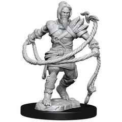 Magic: The Gathering Unpainted Miniatures: Stoneforge Mystic & Kor Hookmaster (Fighter, Rogue, Wizard)