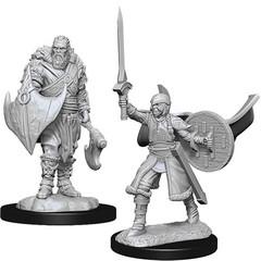 Magic: The Gathering Unpainted Miniatures: Human Berserkers