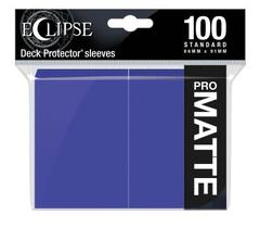 Ultra Pro - Eclipse Pro Matte Standard Sleeves: Royal Purple 100ct