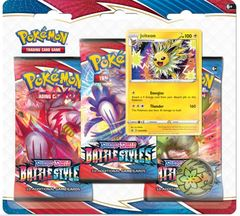 Sword & Shield - Battle Styles 3 Pack Blister - Jolteon