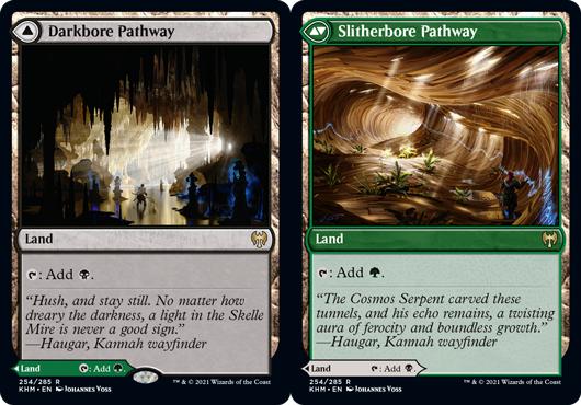 Darkbore Pathway // Slitherbore Pathway - Foil