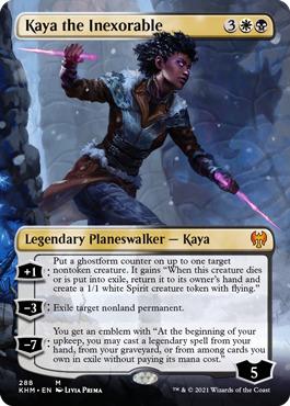 Kaya the Inexorable - Foil - Borderless