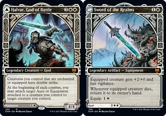 Halvar, God of Battle // Sword of the Realms - Showcase