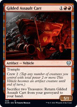 Gilded Assault Cart
