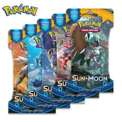Sun & Moon Sleeved Booster Pack