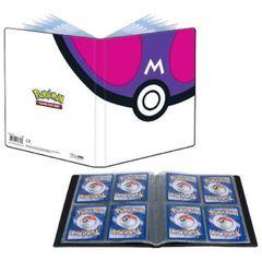 Ultra Pro 4-Pocket Portfolio Pokemon Master Ball