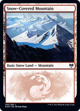 Snow-Covered Mountain (283)