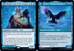 Alrund, God of the Cosmos // Hakka, Whispering Raven - Foil
