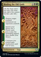 Binding the Old Gods - Foil