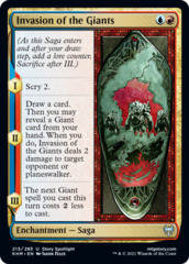 Invasion of the Giants - Foil
