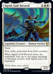 Sigrid, God-Favored - Foil