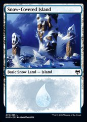 Snow-Covered Island (279) - Foil